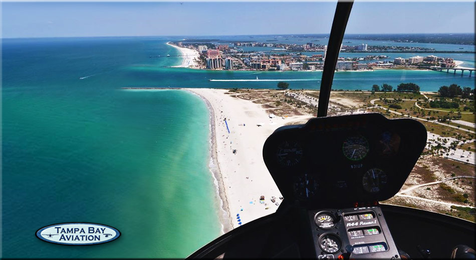 clearwater helicopter and airplane tours