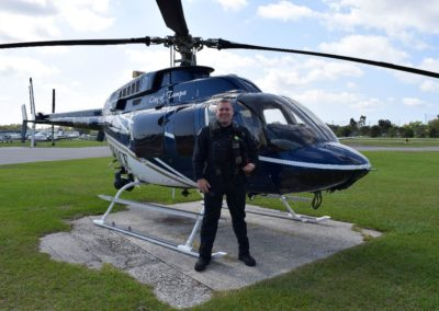 Congratulations to Brad on his helicopter CFI