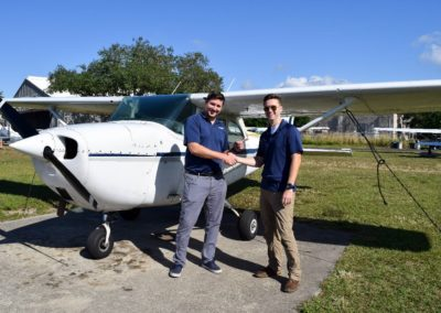 Congratulations to Jordan on his private pilot rating!