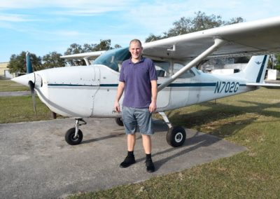 Congratulations to Zac on his private pilot rating!