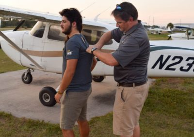 Congratulations to Frankie on his first airplane solo!