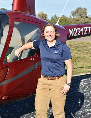Grace Summers Helicopter Instructor