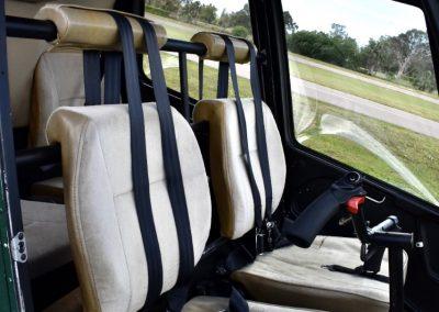 Robinson R44 Raven ll N106FC front seats