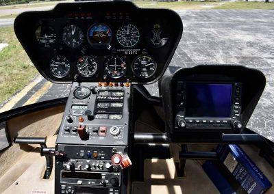 Robinson R44 Raven ll N106FC panel